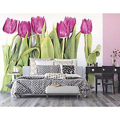 Fotomural Tulipán violeta 3,60x2,54 m