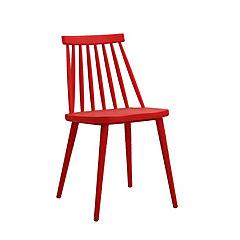 Silla 77x48,5x45,5 cm rojo