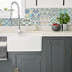azulejo autoadhesivo 15x15 cm 12 unidades