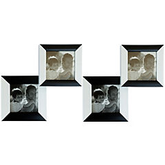 Set de marcos para foto 2 unidades blanco