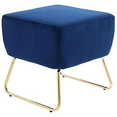 Pouf 42x45x42 cm azul