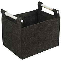 Caja 41x33x33 cm gris