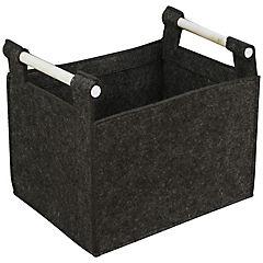 Caja 38x30x31 cm gris