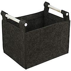 Caja 32x24x27 cm gris