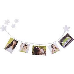 Floraline porta foto/memo blanco 81 cm extendido