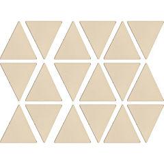 Botones autadhesivos decorativos de pared confetti 16 unidades triangulos