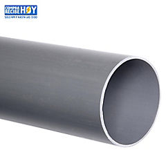 Tubo PVC sanitario para cementar 75 mm 6 m