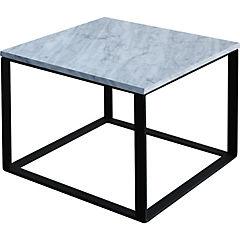Mesa de centro Incubus 50x50x40 cm blanca