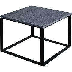 Mesa de centro Incubus 50x50x40 cm gris