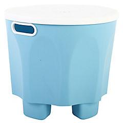 Piso Pipo con tapa 30x26 cm azul