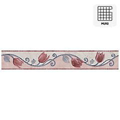 Listel Florina rosado 5,7x35 cm