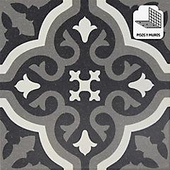 Cerámica 20x20 cm Florentine negro 1 m2