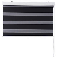 Cortina enrollable Duo black out 100x100 cm