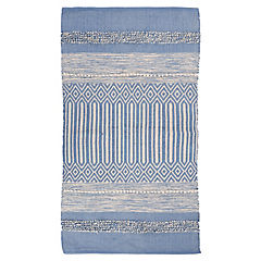 Alfombra Pack azul 70x120 cm