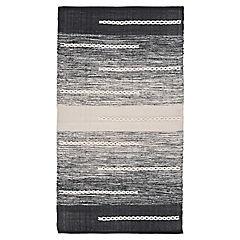 Alfombra Pack negra 70x120 cm