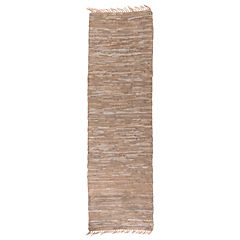 Alfombra Pas Chindi natural 70x240 cm