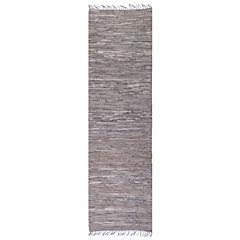 Alfombra gris 70x240 cm