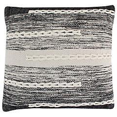 Cojín Otoño invierno 45x45 cm negro