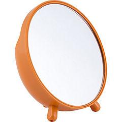 Espejo redondo naranjo