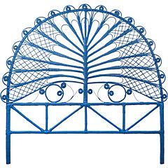 Respaldo para cama 140x150x5 cm azul