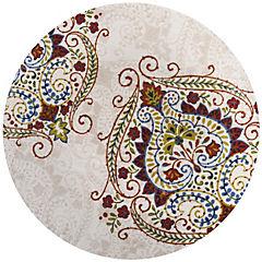 Plato redondo 27,8 cm rojo