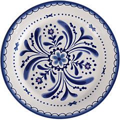 Plato redondo 22,3 cm azul