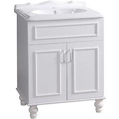 Mueble vanitorio 65x80x47 cm Blanco