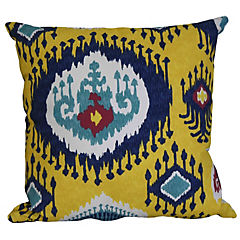 Cojín Brasil 45x45 cm amarillo