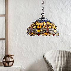 Lámpara colgante 2 luces 120 cm 60 W