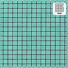 Malla vidrio 32,7x32,7 cm agua Marina