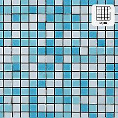 Malla vidrio 32,7x32,7 cm cielo mezclado
