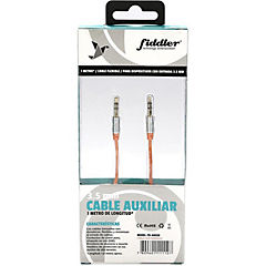 Cable de audio naranjo