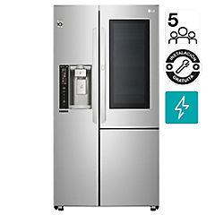 Refrigerador side by side 691 litros gris