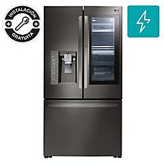 Refrigerador side by side 691 litros negro