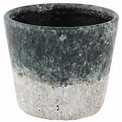 Macetero ceramica 14 x 12 cm, colores surtidos