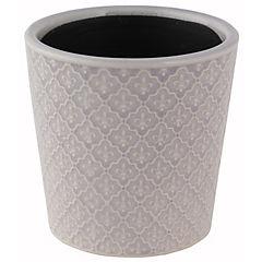 Macetero de cemento 11x10 cm, colores surtidos