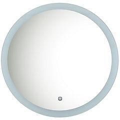 Espejo Nice redondo con luz led 59 cm