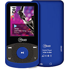 Mp4 8gb rubber azul