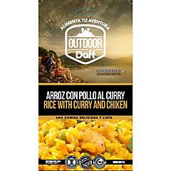 Arroz con pollo al curry 200 gr