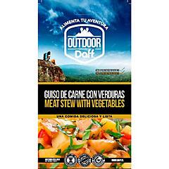 Guiso de carne con verduras 200 gr