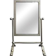 Espejo rectangular de mesa 27x40 cm