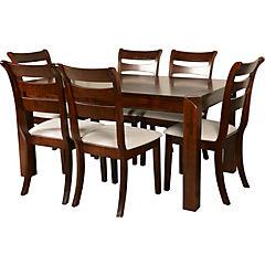Juego de comedor Florencia 6 sillas 150x90 cm
