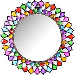 Espejo Vitral redondo de 46 cm