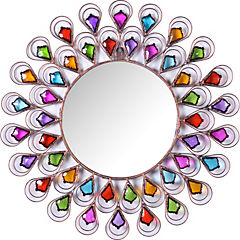 Espejo Vitral redondo de 61,5 cm