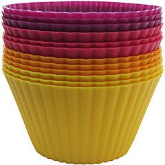 Set 12 maxi muffins silicona