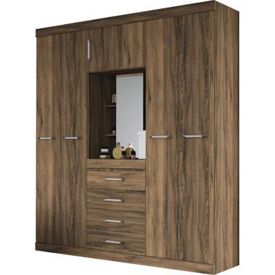Ropero capelina demolici n 4 cajones espejo 5 ptas tirador aluminio - Fijaciones para espejos ...