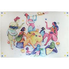 Set 4 individuales 40x28 cm Artistas Emergentes