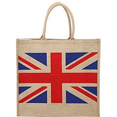 Bolsa reutilizable England yute 40x45x18