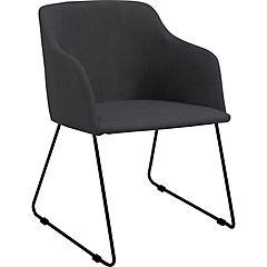 Silla 54,5x52x79,5 negro