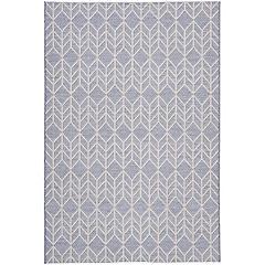 Alfombra gris D1 120x170 cm